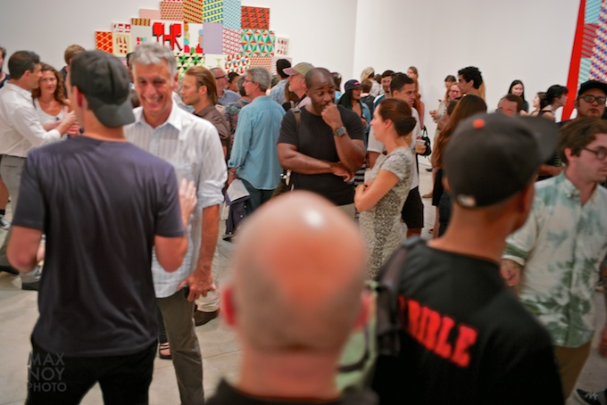 Barry McGee Opening at Cheim & Read