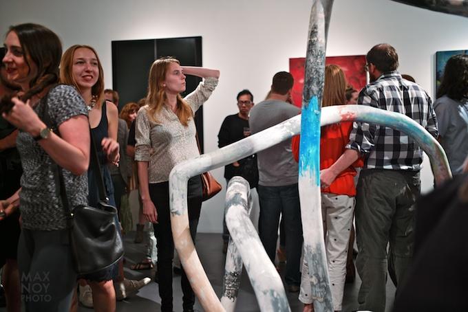 Guests at the Season Opener Show at Judith Charles GalleryGuests at the Season Opener Show at Judith Charles Gallery