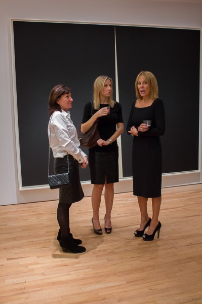 Elegance ruled at Gemini G.E.L. for Richard Serra Opening Reception