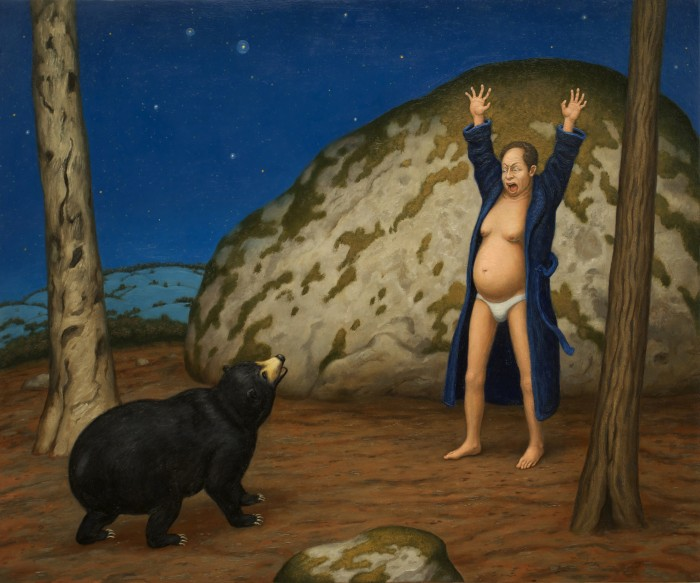 Falls Village Bear Scare (2009-2013) by Seth Michael Forman