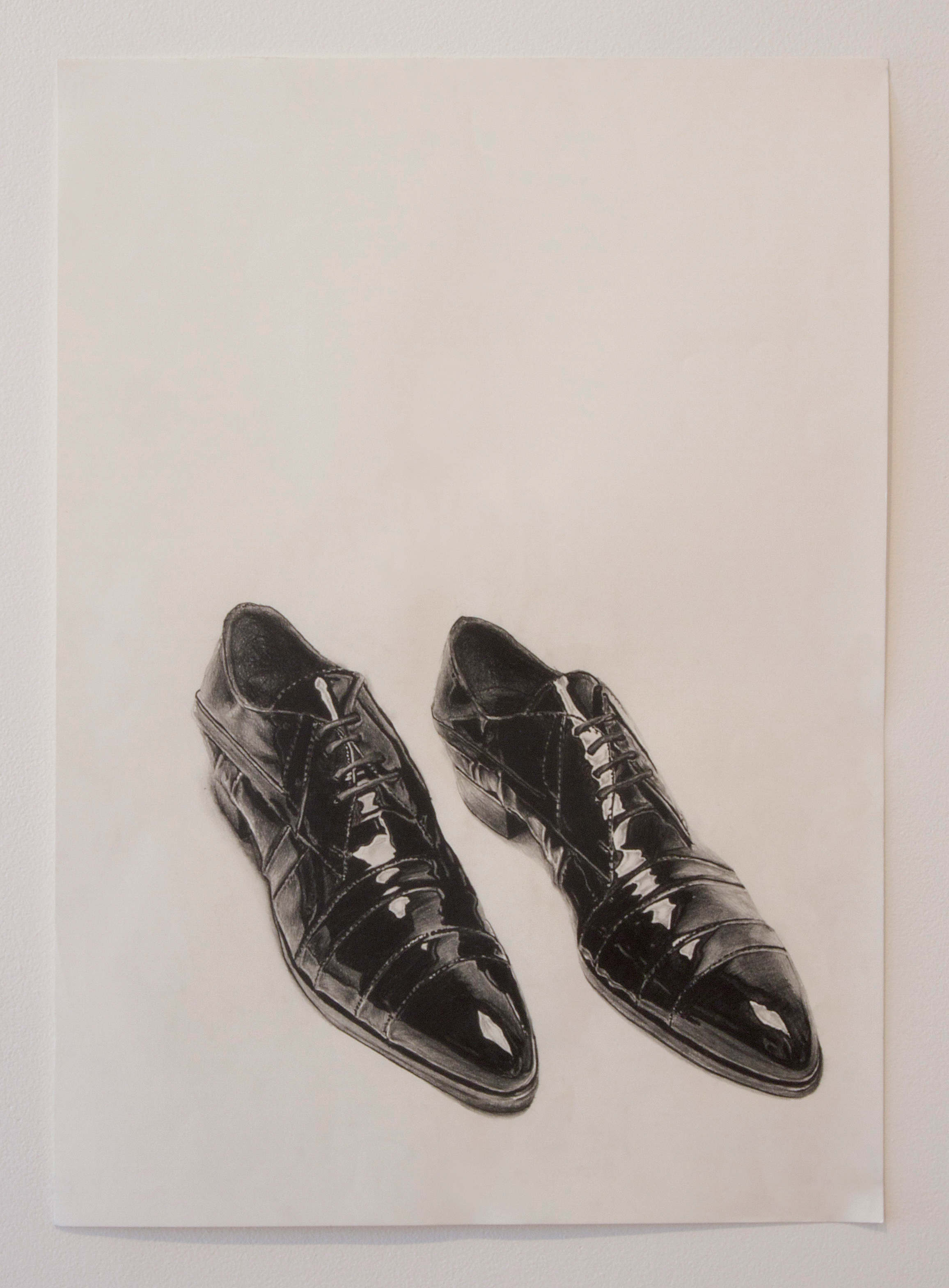 For any shoe lover - you will love this Graphite Drawing by Guy Goldstein