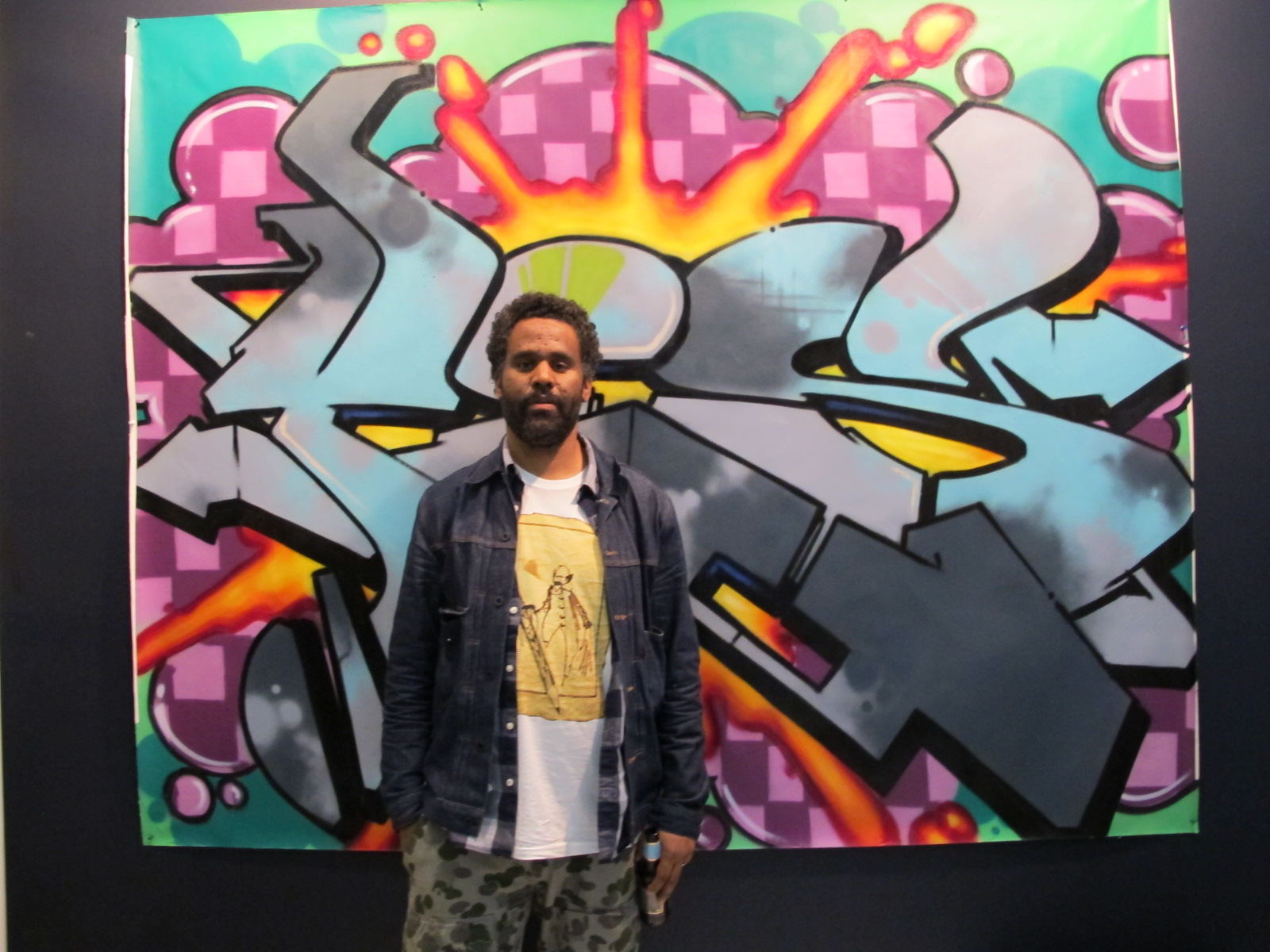 An Authentic View of American Graffiti art by Sacha Jenkins