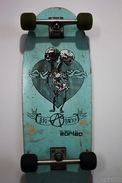 """vintage Zorlac """"Big Boys"""" skateboard"""