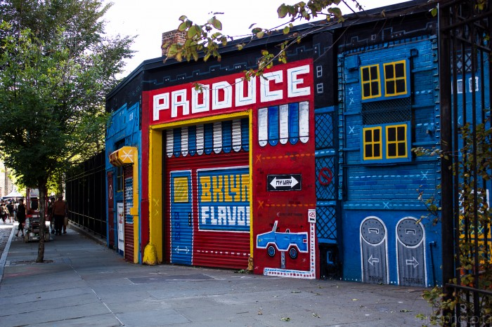 Talk about curb appeal at the DUMBO Arts Festival