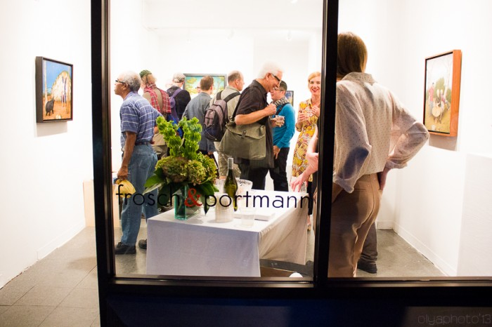 frosch & portmann opening reception at Stanton Street LES