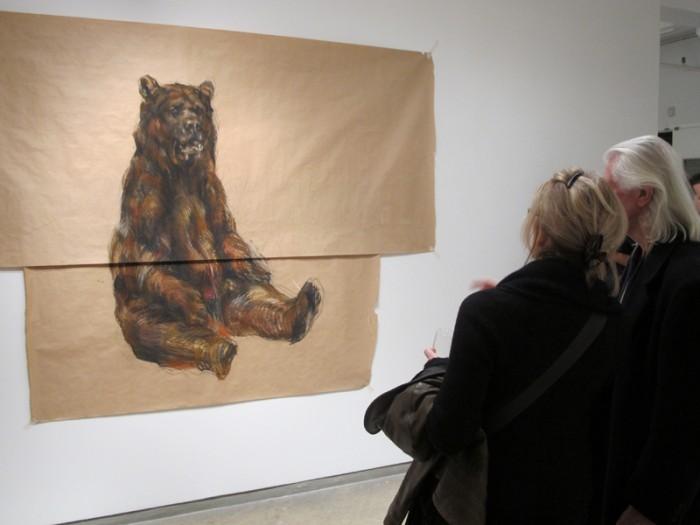 Awwww a Teddy Bear so cute and huggable at FLOWERS Gallery