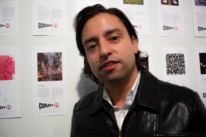 Artist Jamie Martinez