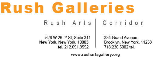 Rush Galleries temp. Logo