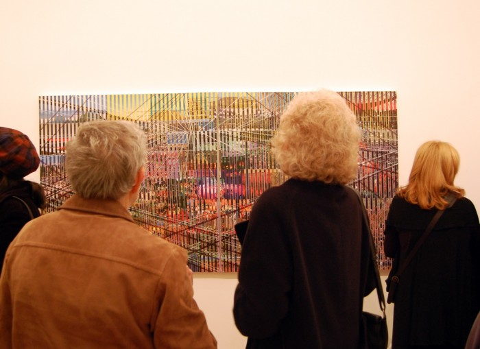 Large formats and impressive images captures the eyes of the public in this exhibition.