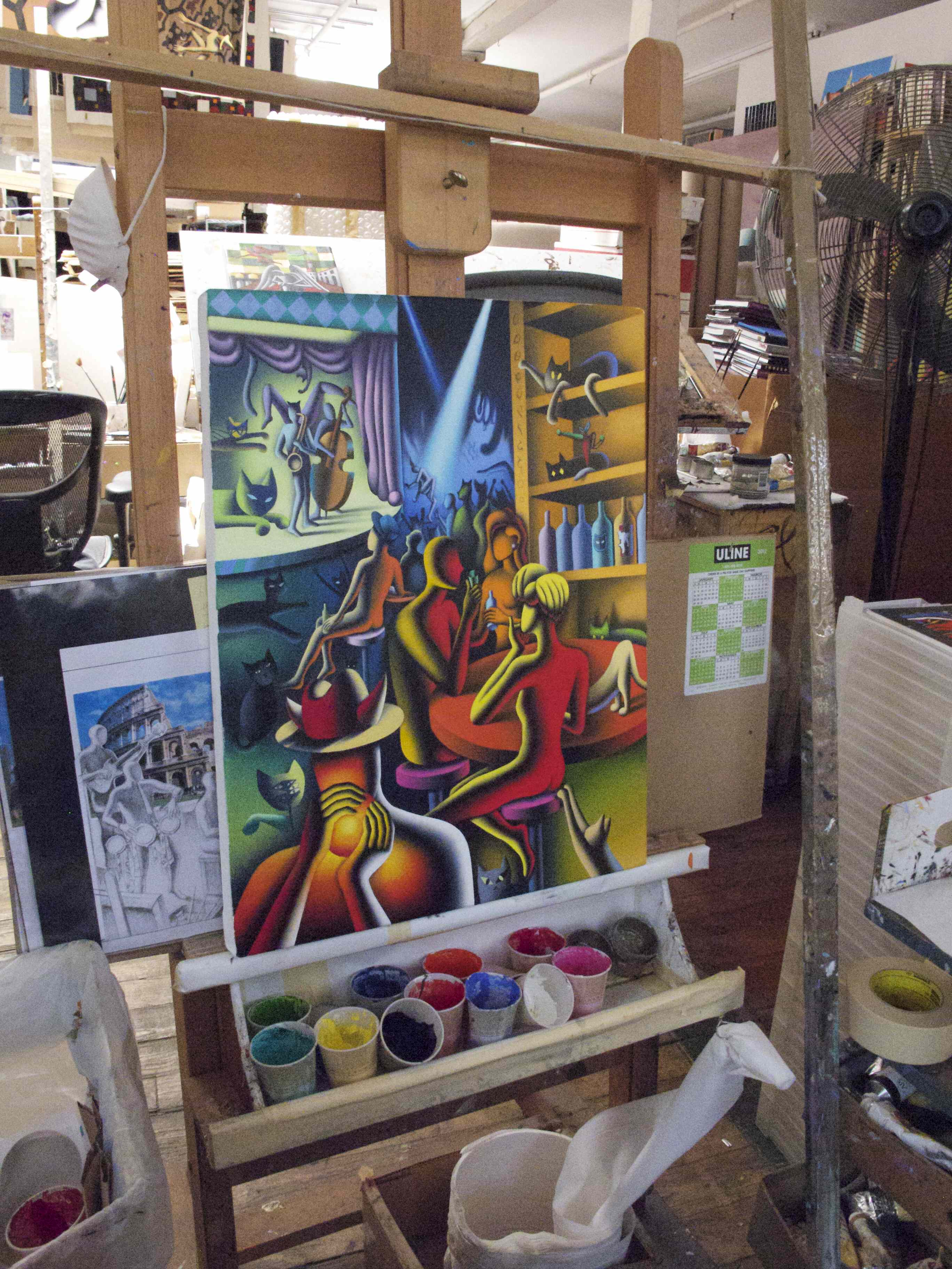 Mark Kostabi: How to become a successful artist in New York