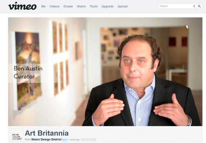 Video about Art Britannia