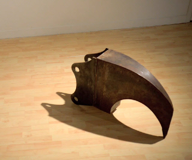 Ripper Tooth Original - Steel Sculpture by James Capper