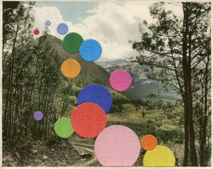 Bubble Hill (2013) by Julie Cockburn