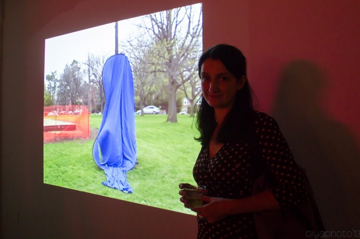 Daniela Kostova's video installation