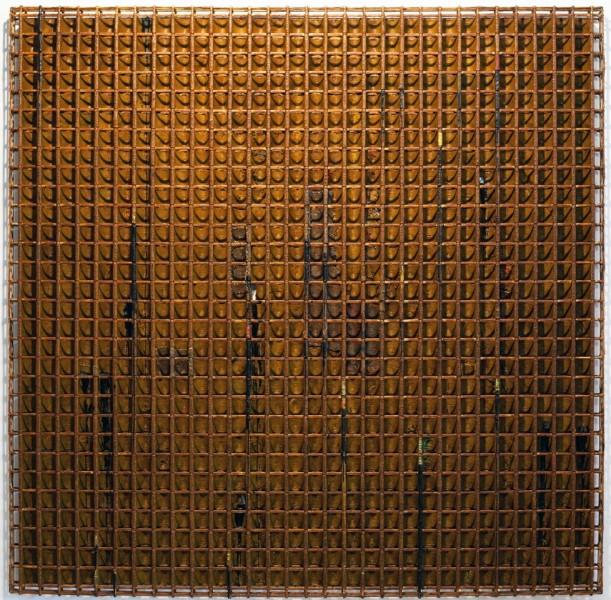 Fertile Land (2012) 79 x 79 x 3 inches by Sopheap Pich