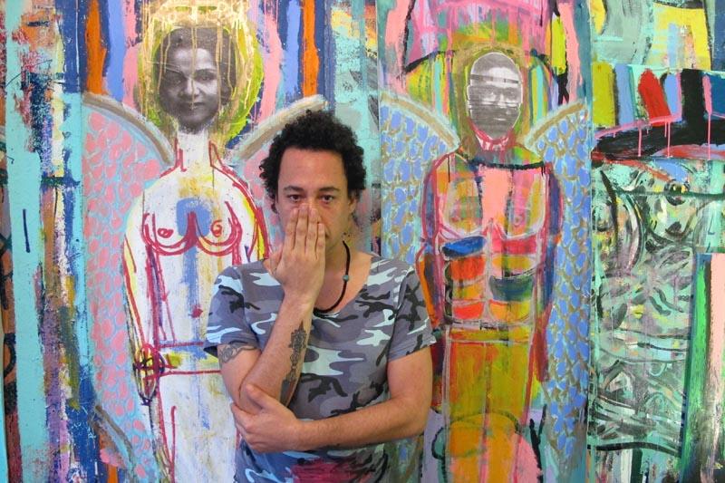 Artist Kimyon Huggins