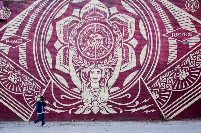 Mural by Shepard Fairey