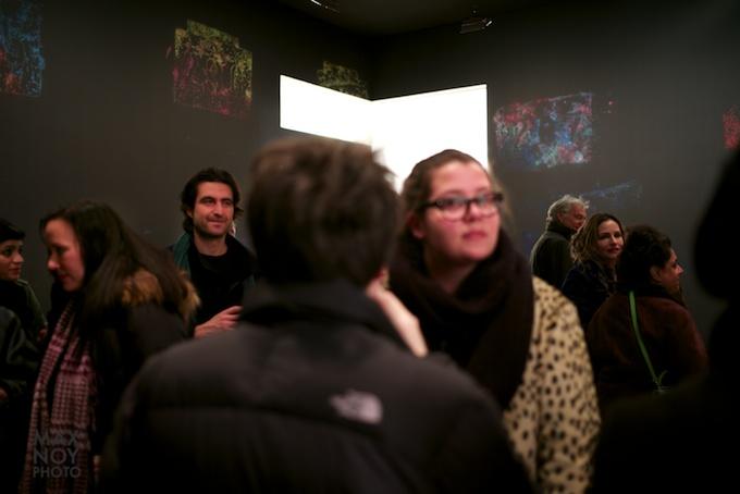 Opening Recveption Ingrid Calame at James Cohan Gallery