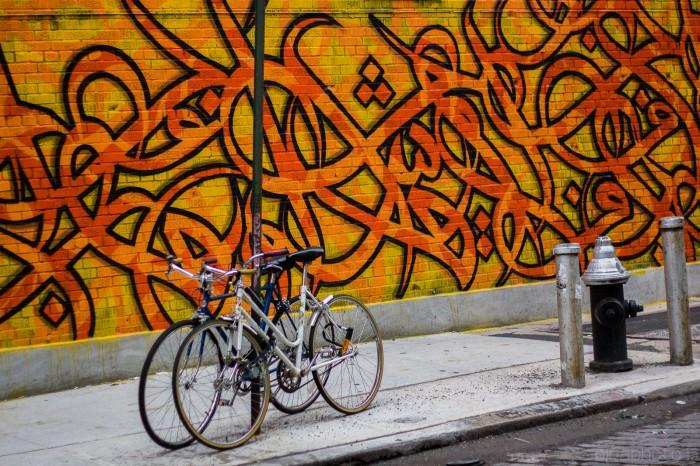 Street Art on Broome Street by Olya Turcihin