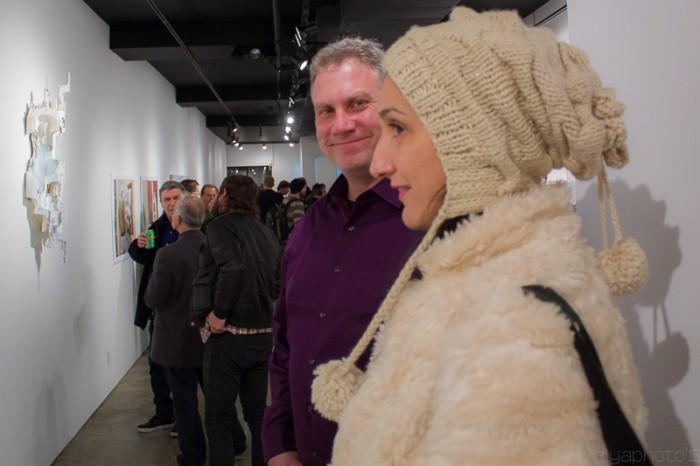 artists, Alan Lupiani and Daniela Kostova