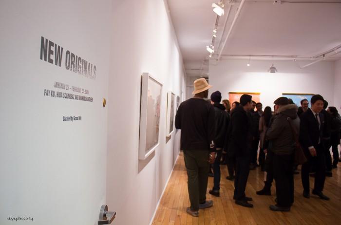 Art opening at Gallery HO