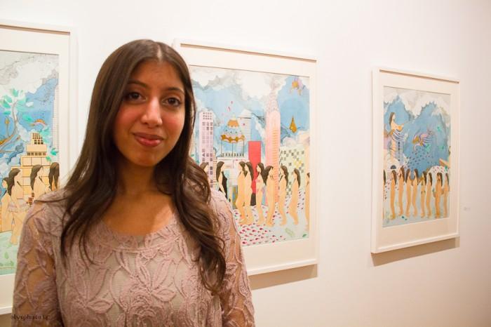 Artist Hiba Schahbaz
