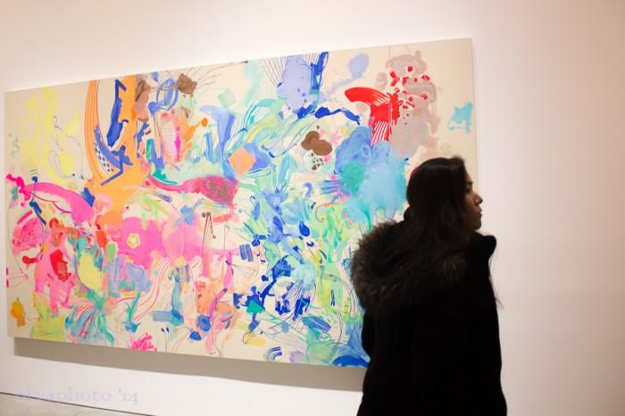 Big and bold art at 303 Gallery