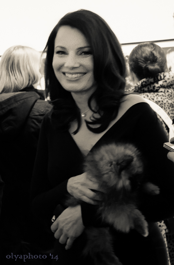 Fran Drescher out on Art Night in Chelsea