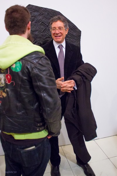 Jeffrey Deitch states he is glad to be home in NYC