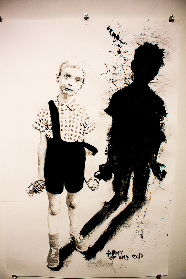 Jef Campion's interpretation of Diane Arbus' photograph