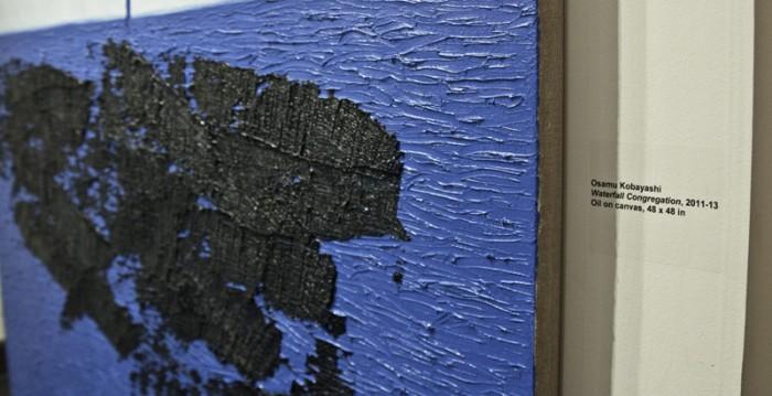 Osamu Kobayashi Water fall Congregation 2011 2013 Oil On Canvas