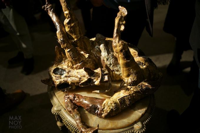 Sculpture by Allison Schulnik at Zieher Smith