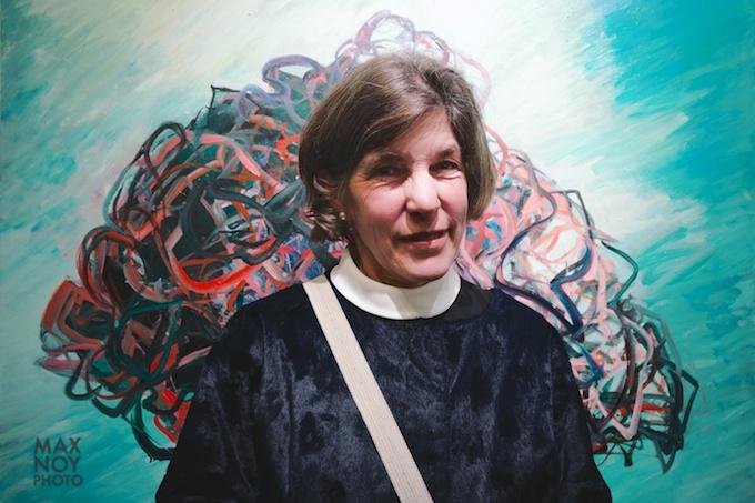 Artist Deborah Brown