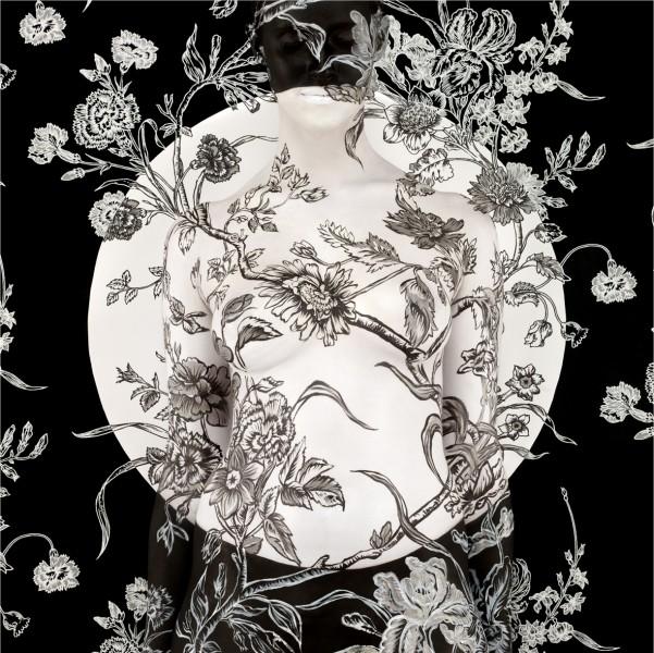 Emma Hack Carnation Mandala C-Print 2010