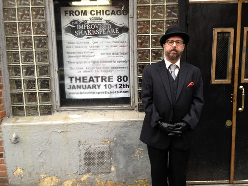 Lorcan Otway, owner of Theatre 80