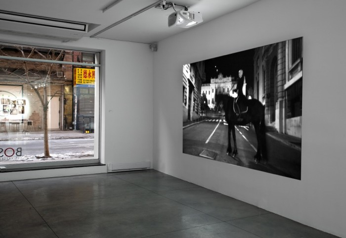 """Republika"" by performance artist Marta Jovanović's at Bosi Contemporary"
