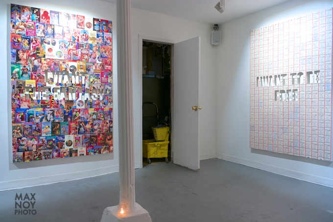 The work of Jonathan Rosen at ROX Gallery