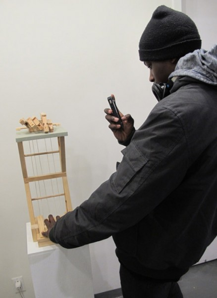 Fun times at Galerie Protégé
