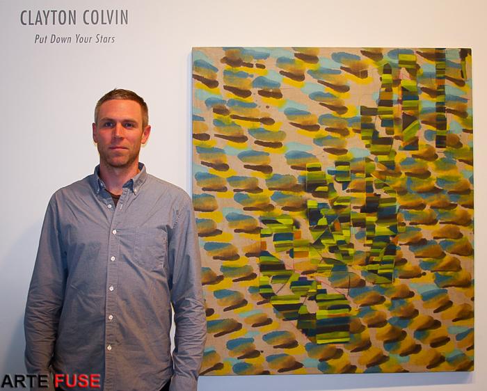 Artist Clayton Colvin