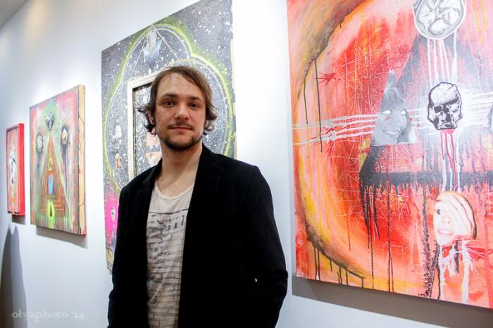 Artist Patrick Grzelewski