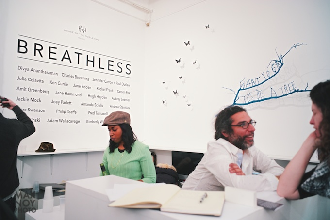 Breathless at RUSH Arts Gallery