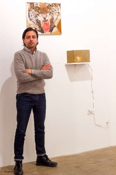 Jamie Martinez & his art at CLIO Art Fair