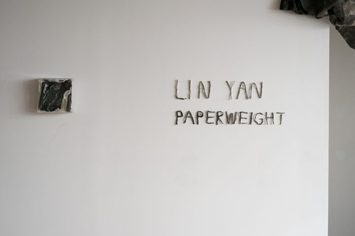 The Harmfully Active and Helplessly Receptive: Paperweight by Lin Yan at Gallery Fou
