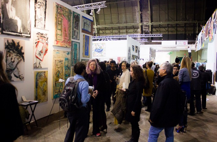 If was a full house at Fountain Art Fair 2014
