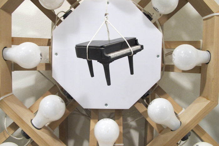 Nick Doyle, Piano (dream sequence), 2013, 47 x 39 x 12 inches