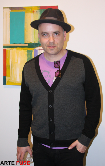 Noah Becker Artist & Publisher of White Hot Magazine