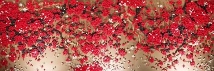 RAN HWANG THE SNOWFALL OF SPIDERS AT LEILA HELLER GALLERY