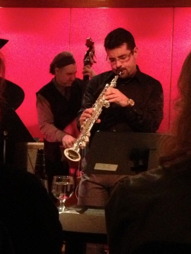 Rob Derke - soprano saxophone