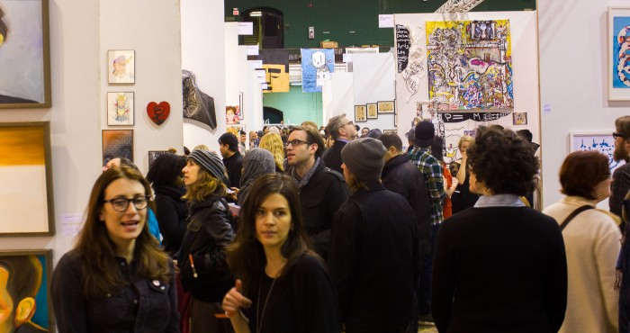 The crowd at Fountain Art Fair 2014