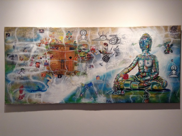 Meditate with Mickey and have a Heineken! Transcending Boundaries, Reflecting Change: Tashi Norbu at Tibet House in New York City